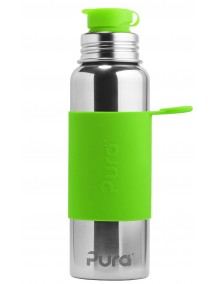 Pura Kiki Steel Water Sport Bottle 28oz/850ml Green