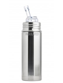 Pura Kiki 9oz Natural Vaccum Insulated  Straw Vaccum Insulated Bottle By Montyybucks Inc.