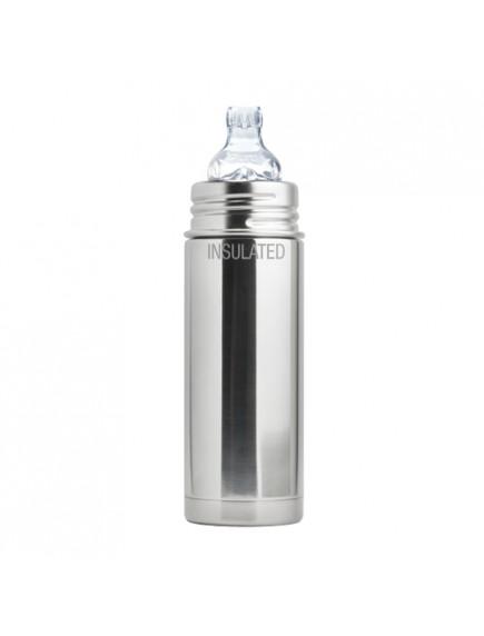 Pura Kiki 9oz Natural Vaccum Insulated Sippy Cup Feeding Bottle By Montyybucks Inc.