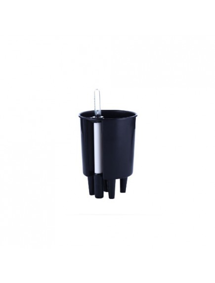 Liquids Self Watering Planter Black by MontyyBucks Inc