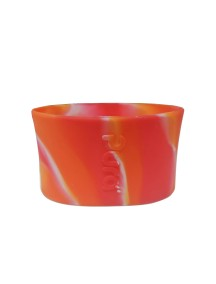 Pura Kiki Medical Grade Silicon Sleeve Small Size Orange Swirl.